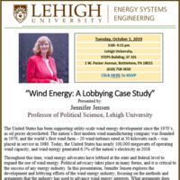 Seminar Series | Energy Systems Engineering