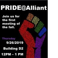 Next PRIDE@Alliant Meeting