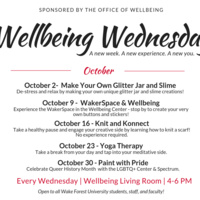 Wellbeing Wednesday: WakerSpace & Wellbeing