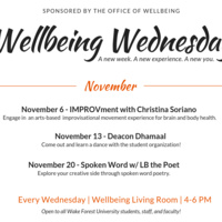 Wellbeing Wednesday: Spoken Word w/ LB the Poet