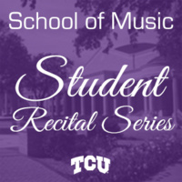 Student Recital Series: Melissa Cannon and Adam Thomas, voice. Andrew Packard, piano.