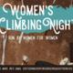 Women's Climbing Night