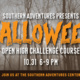 Halloween Open High Challenge Course