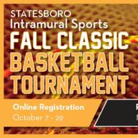 Fall Classic Basketball Tournament Registration