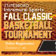 Fall Classic Basketball Tournament Registration