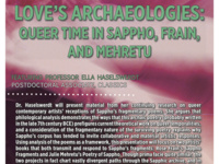 Love's Archaeologies: Queer Time in Sappho, Frain, and Mehretu