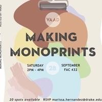 Making Monoprints