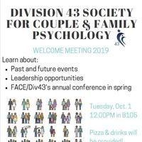DIVISION 43 WELCOME MEETING 2019