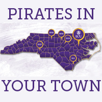 Pirates In Your Town - Greensboro
