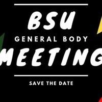 BSU General Body Meeting