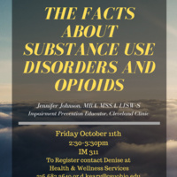 The Facts About Substance Use Disorders and Opioids