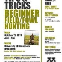 FREE      Tips & Tricks Beginning Fowl/Field Hunting