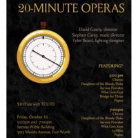 "Ensemble Concert Series: TCU Opera presents ""20-Minute Operas"""