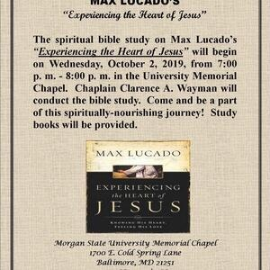 Chapel Bible Study:  Experiencing the Heart of Jesus