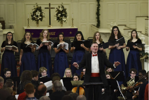 Lessons and Carols at College Chapel