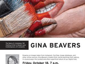 Gina Beavers Artist Talk