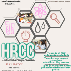 The ASCEND Student Research Center's Health Research Concepts Competition (HRCC)