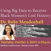 Public Talk: Using Big Data to Recover Black Women's Lost History