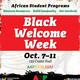 Black Welcome Week: ASP Fall Welcome BBQ