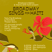 Broadway Sings for Haiti