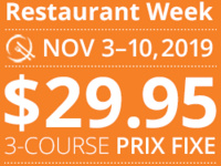 Fall Long Island Restaurant Week