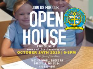 Rock Church Academy: Fall Open House