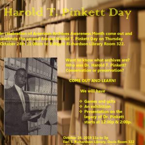 Harold T. Pinkett Day