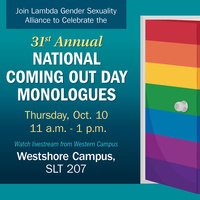 National Coming Out Day Monologues