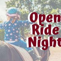 Open Ride Night