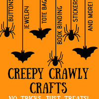 Libraries: Creepy Crawly Crafts
