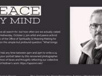 A Peace of My Mind Photo Studio on Meaning