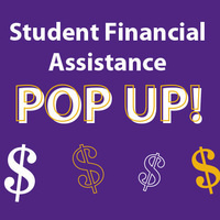 Student Financial Assistance Pop Up