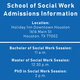 Houston—School of Social Work Graduate Info Session