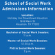 Houston—School of Social Work PhD Information Session
