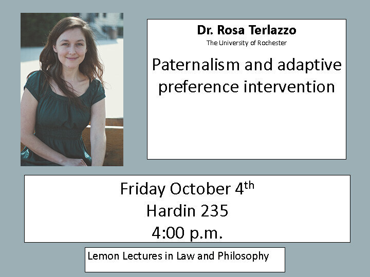 Paternalism and adaptive preference intervention