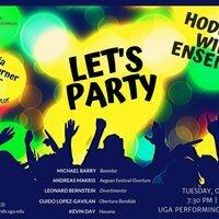 Hodgson Wind Ensemble: Let's Party!