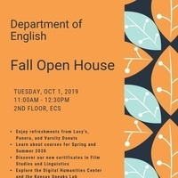 English Department Fall Open House