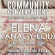 Community Conversations: MFA Textiles In-Studio Talks: Elena Kanagy-Loux