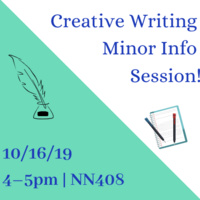 Creative Writing Minor Info Session