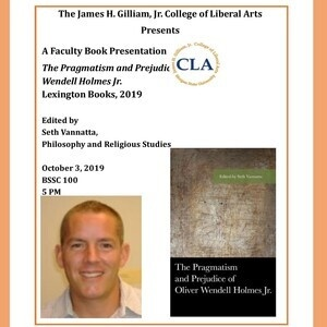The Pragmatism and Prejudice of Oliver Wendell Holmes Jr. :  Book Presentation