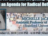 Michelle Jackson - Manifesto for a Dream: Inequality, Constraint, and an Agenda for Radical Reform