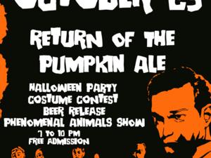The Return of Pumpkin Ale