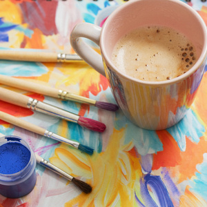 Coffee and Canvas