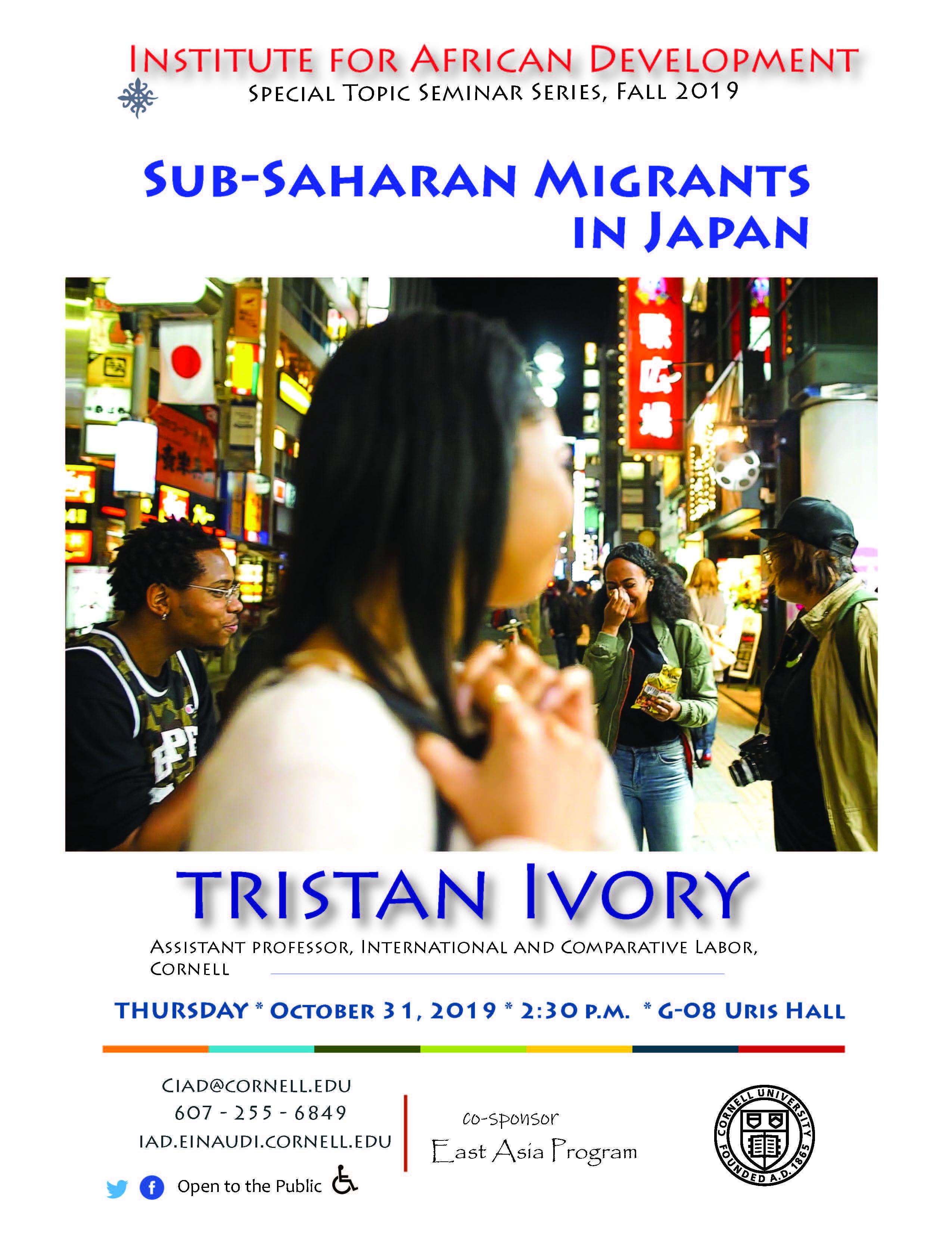 Sub-Saharan Migrants in Japan