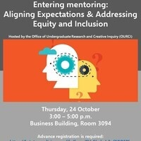Entering Mentoring: Aligning Expectations & Addressing Equity and Inclusion