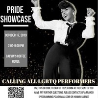 Pride Open Mic Night
