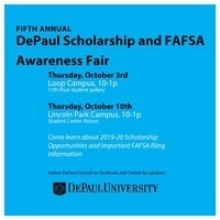 DePaul Scholarship & FAFSA Awareness Fair