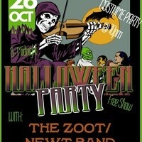 Halloween Costume Party With Zoot and Newt Band