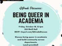 QGrads Discusses: Being Queer in Academia
