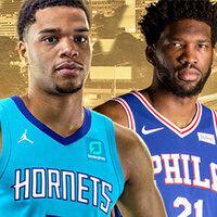 Charlotte Hornets vs. Philadelphia 76ers